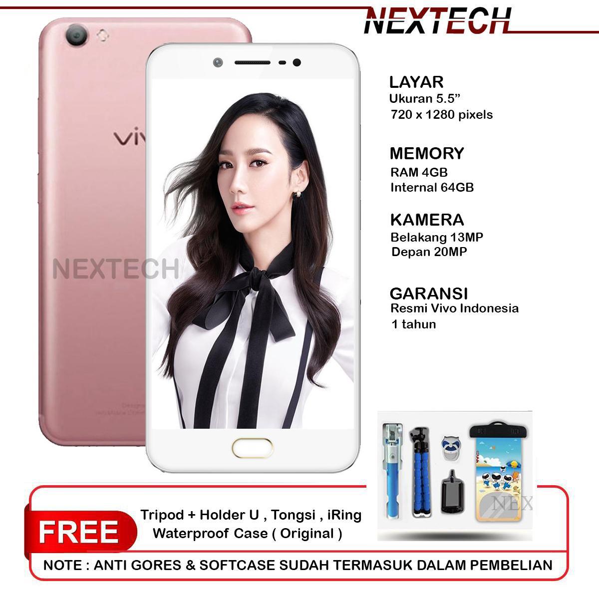 VIVO V5S 4GB/64GB - 4G LTE - GARANSI RESMI