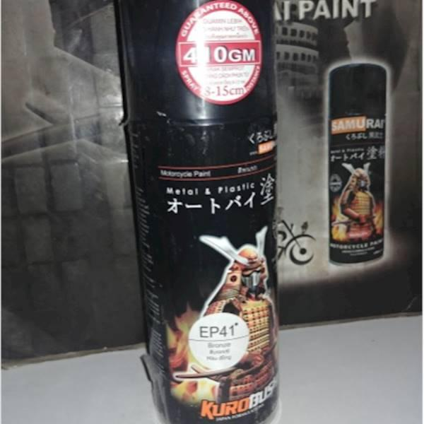 Samurai Paint&Pylox&Cat Semprot Bronze & Emas Tua