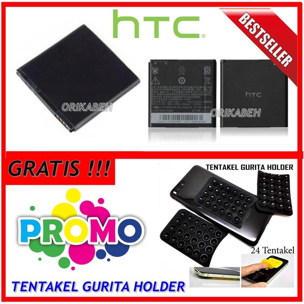 HTC Baterai / Battery HTC Desire VC / BL11100 Original - Kapasitas 1650mAh + Gratis Holder
