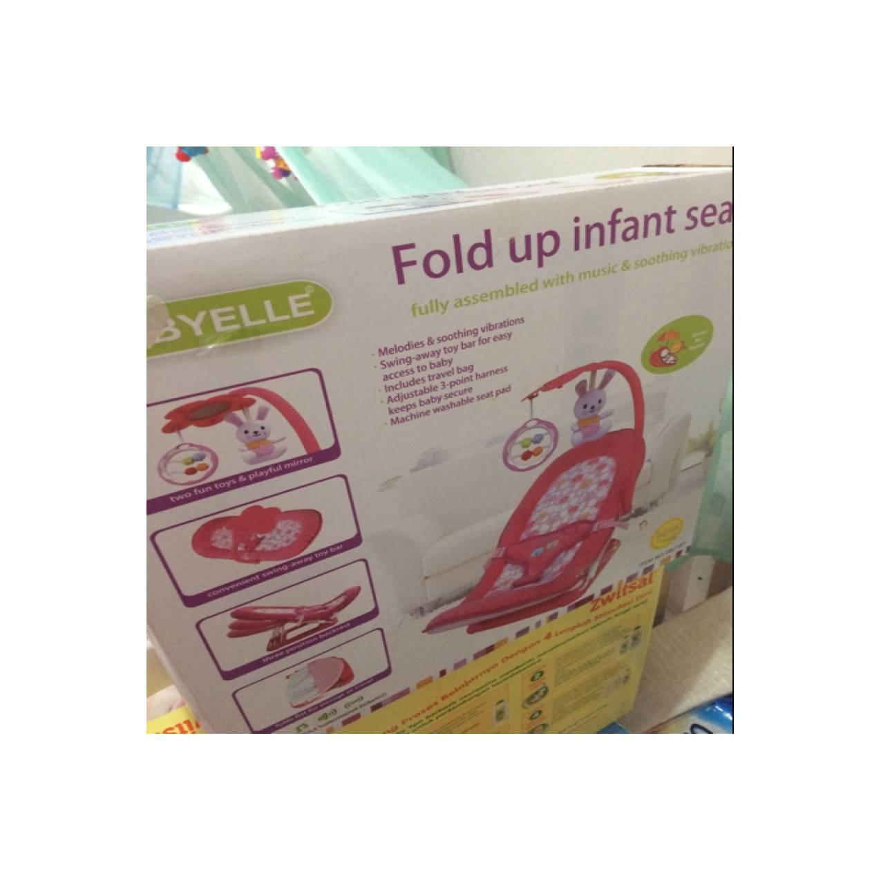 ... Melodies And Soothing Vibrations - Baby Elle Kursi Lipat Bayi - Merah Muda. IDR 249,500 IDR249500. View Detail. fold up infant seat babyelle