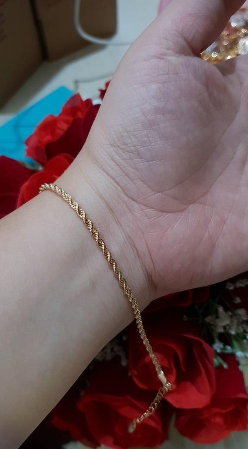 gelang tambang xuping gold