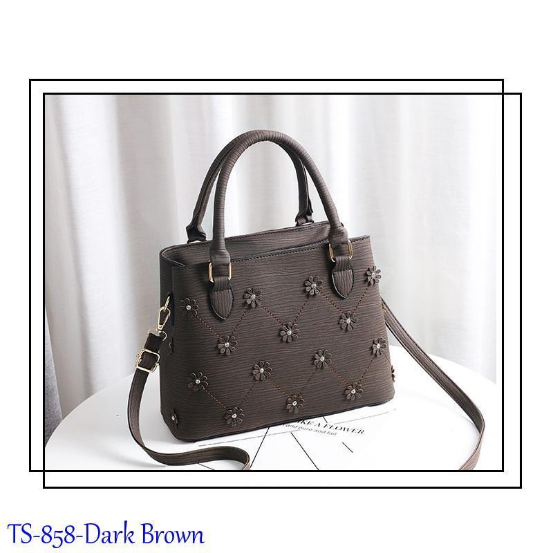 Tas Import Batam Terbaru Top Handle Bag Ala Artis Model TS-858-black 4be271b0ef