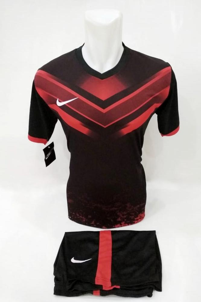 [ Setelan Printing ] Baju Olahraga Jersey Sepak Bola Kaos Setelan Futsal / Volly / Badminton Nike
