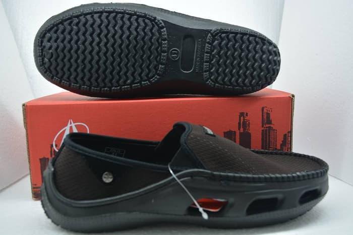 [PROMO] Sepatu Ardiles Zalo Brown, Sepatu Pria, Sepatu Crocs, Sepatu Slip On MURAH