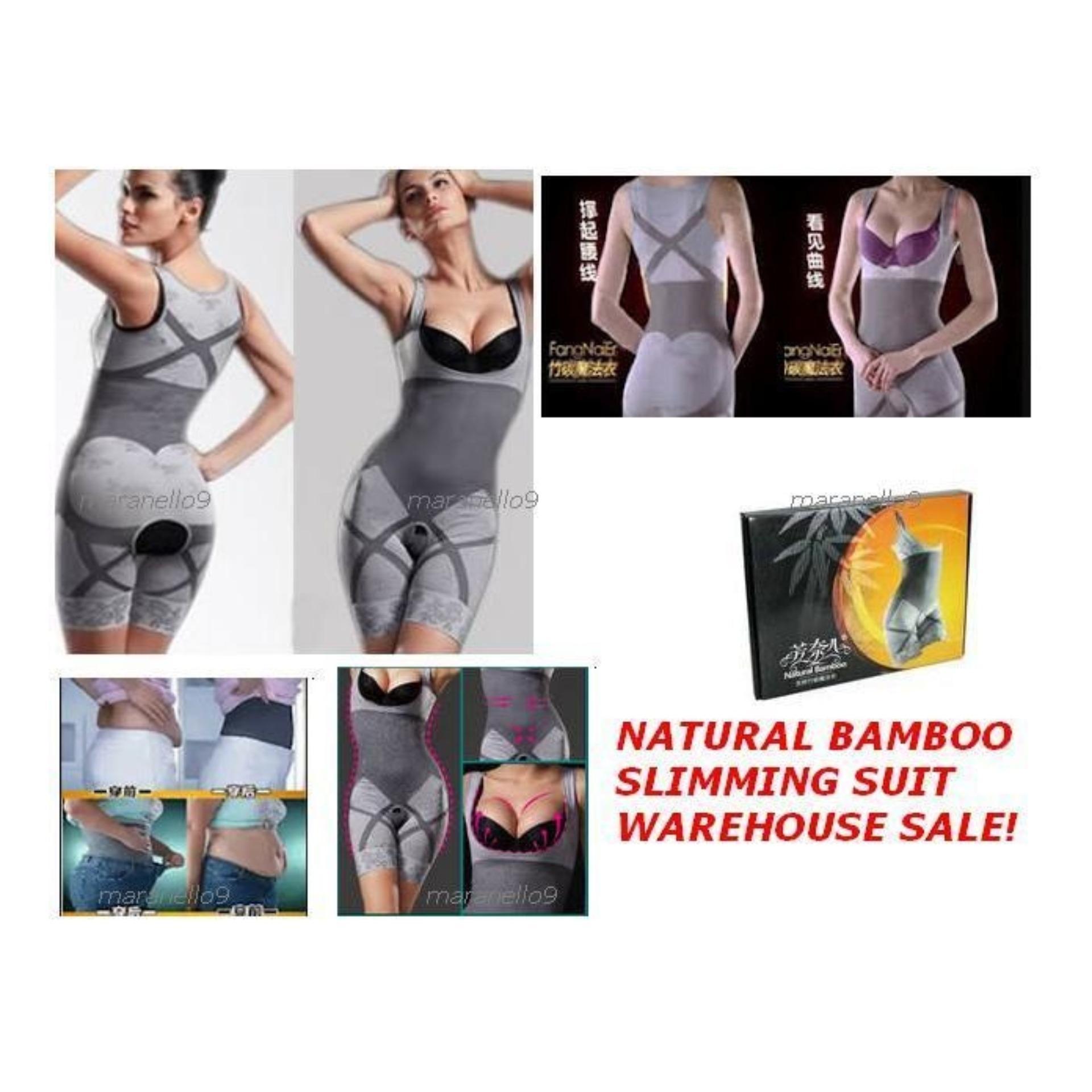 Natural Bamboo Slimming Suit Korset Pakaian Pelangsing Tubuh Asli Bambo Termurah
