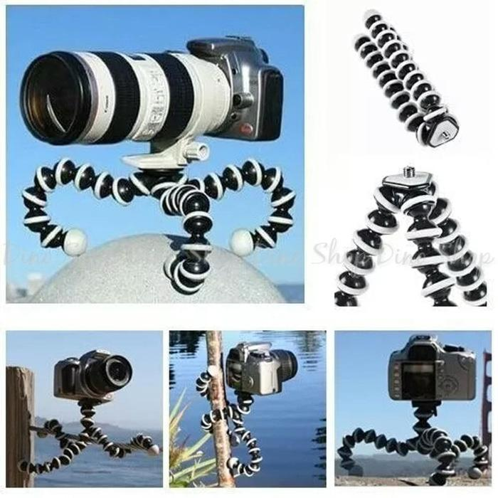 Gorilla Pod Tripod Large Jumbo DSLR Flexible Octopus Besar Vlog Camera