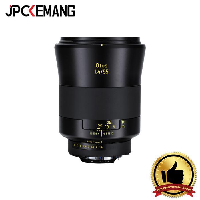 Carl Zeiss For Nikon Zeiss 55mm f/1.4 ZF.2 Otus jpckemang