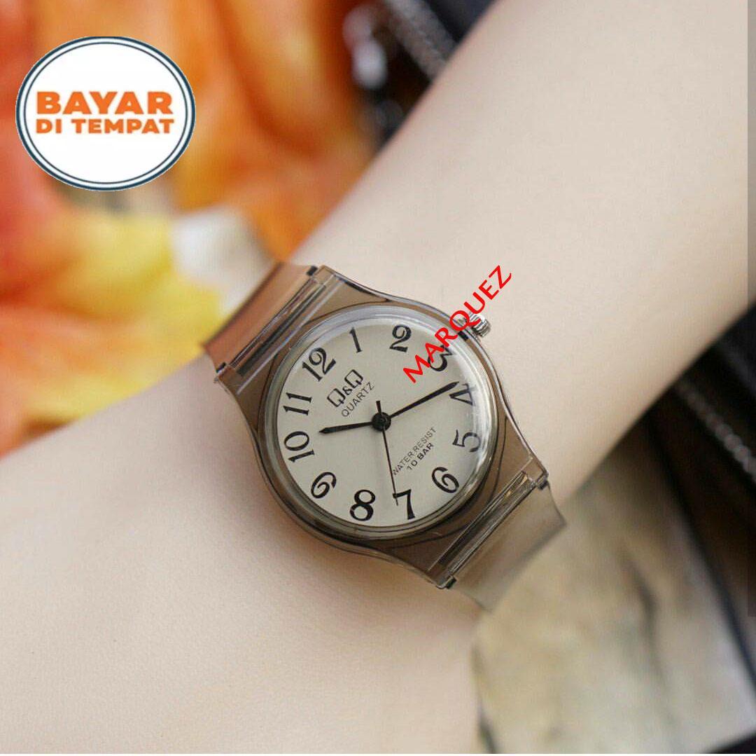 Q&Q/QQ Jam tangan Anak - Exclusive Design - Transparan - Analog Quartz-Limited Edition