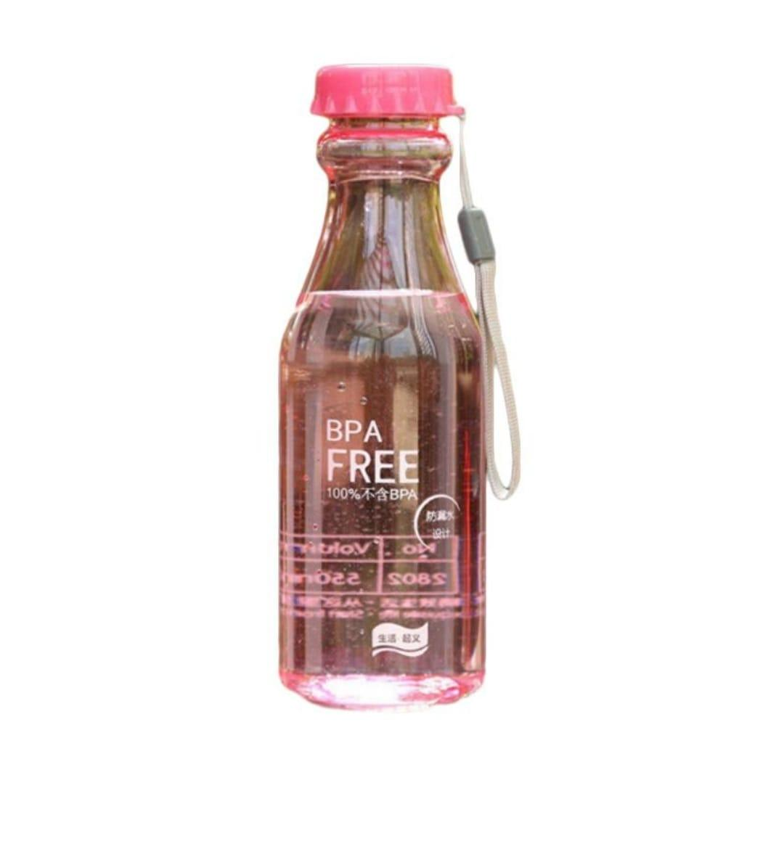 Bpa Free Bottle Botol Minum Unik Batara Anti Tumpah 550ml