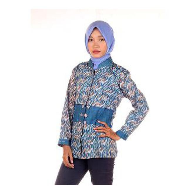 Blus | Kemeja | Hem | Koko | Dress Batik Milo