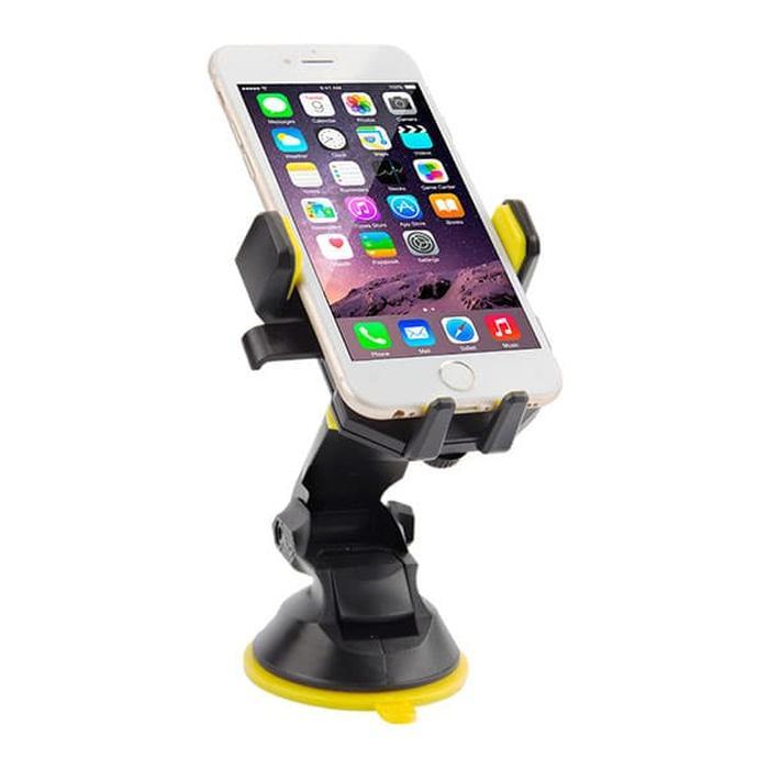 PROMO Vivan Car Mount HP Phone Charger Stand Holder Mobil Universal - CHS03 TERBARU