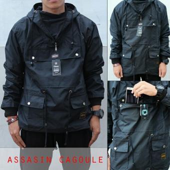 Pencarian Termurah Jaket Cagoule Assasin Taslan Waterproof Fashion Pria sale - Hanya Rp114.600