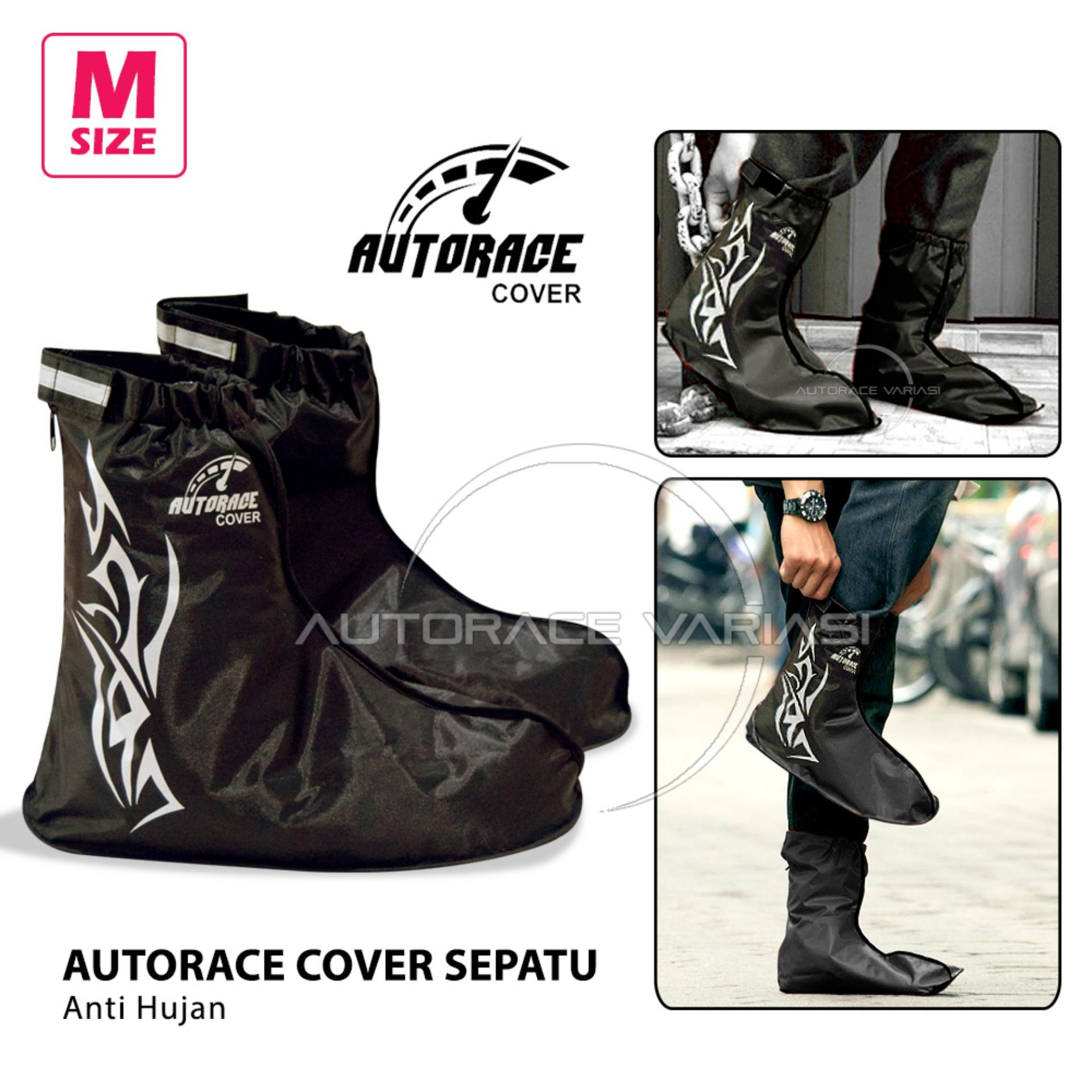 Buy Sell Cheapest Sepatu M Best Quality Product Deals Indonesian Autorace Jas Hujan Cover Shoes Pelindung Raincoat Vr