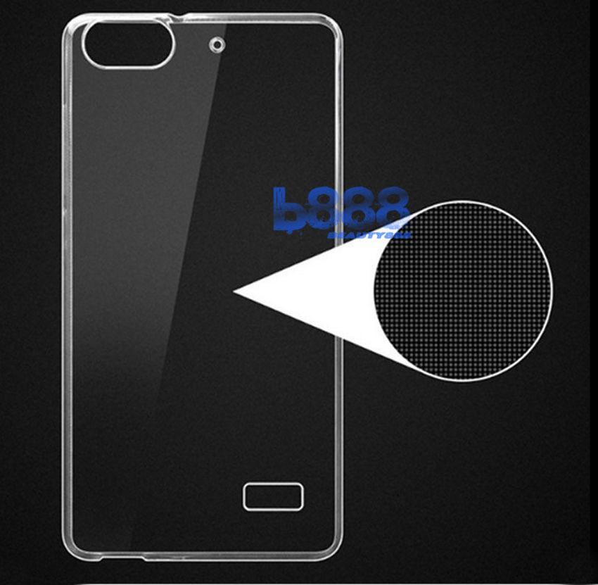 Case Ultrathin Huawei Honor 4C Ultrathin Jelly Air Case 0.3mm Soft Backcase / Silikon Huawei 4C / Silicone / SoftCase / Case Huawei Honor 4C / Soft Backcase / Casing Huawei 4C / Casing Hp - Transparan