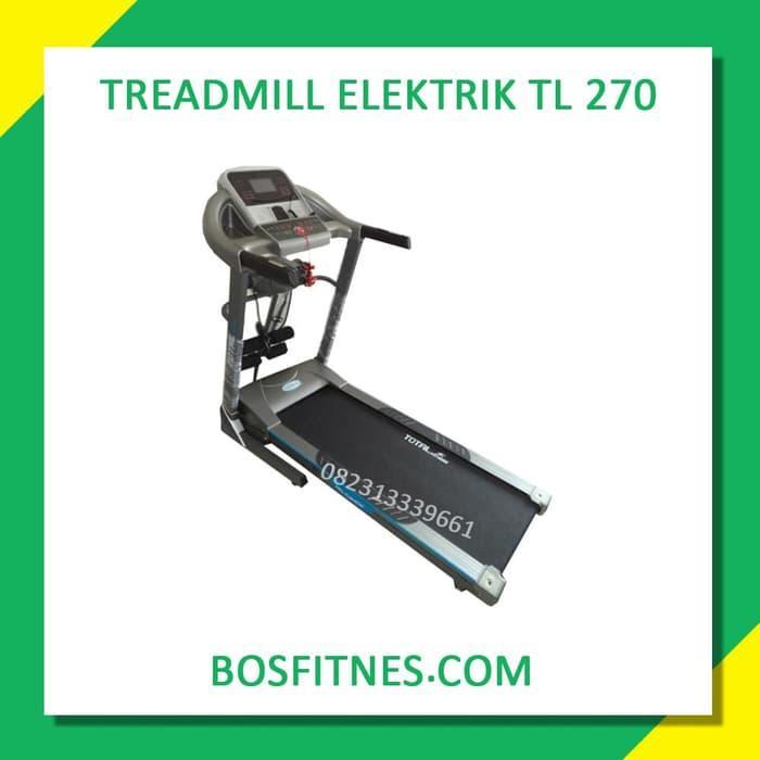 Diskon 10%!! Treadmill Elektrik Tl-270 2 Hp Auto Incilne Karawang - ready stock
