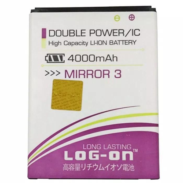Baterai Battery Batre Oppo Mirror 3 / Joy 3 BLP-589 Original Log on double Power