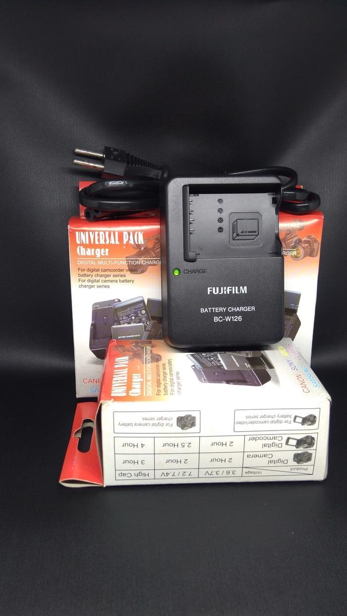 Charger FujiFilm BC-W126 Fuji BC W126 for xa2 xa3 xt10 xt20 Xe1 xm1