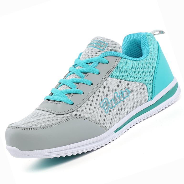 Sepatu Olahraga Wanita Sepatu Lari Super Bernapas Sepatu Jala Sepatu Joging Olahraga Sneakers Super Dapat Bersirkulasi Lari Sepatu Jaring Sepatu Jogging sepatu