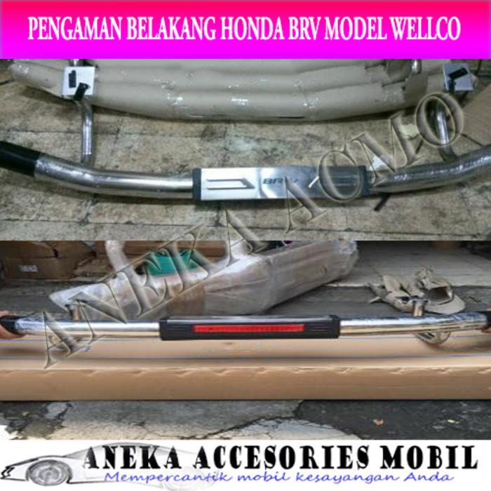Pengaman/Tanduk Belakang/Rear Foot Step Honda BRV/BR-V Merk Well Co