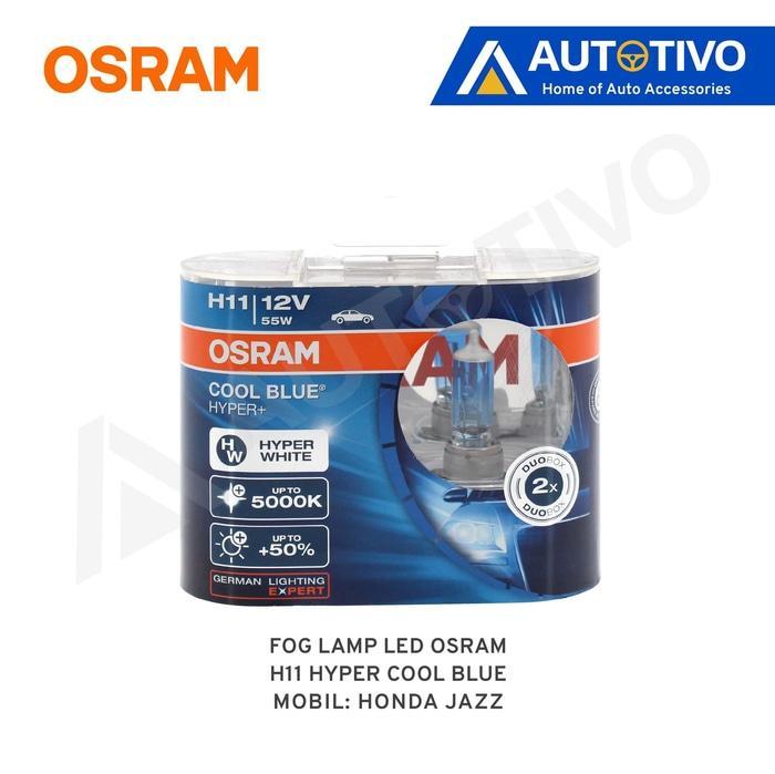 Honda Jazz Osram Lampu Kabut (Fog Lamp) Hyper Cool Blue H11