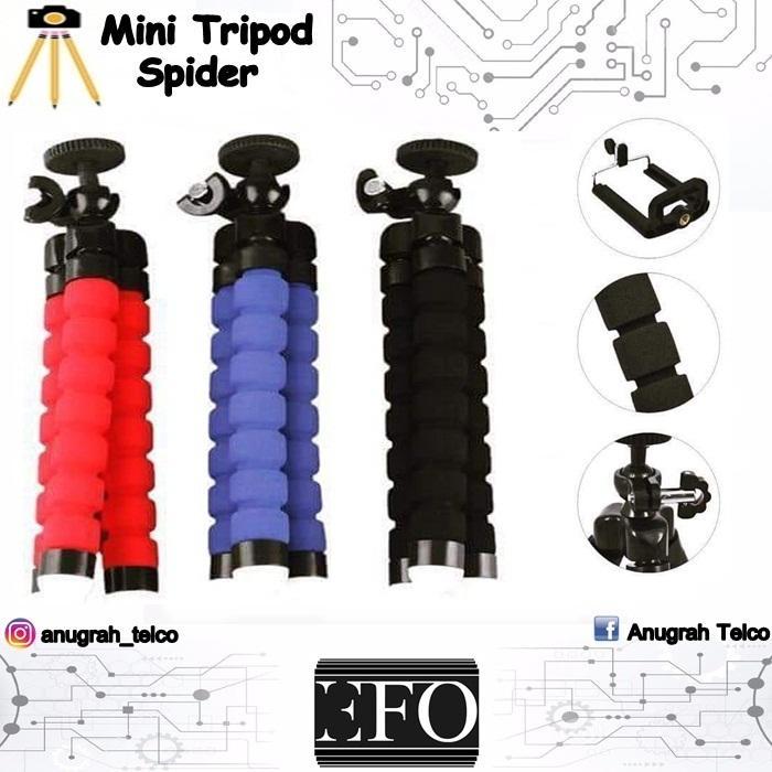Mini Tripod Spider Flexible Tripod FREE Holder U For Smartphone