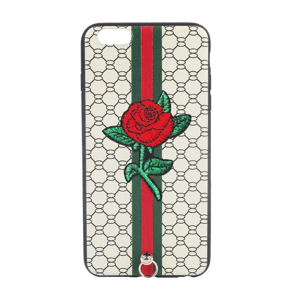 Embossing TPU Case Cover for Huawei Y5II / Y5 II / Honor 5 - Fresh Flowers