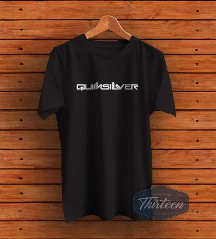 Kaos Original Baju Quiksilver Kualitas Distro - Hitam