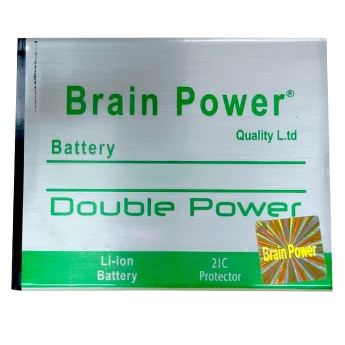 Battery Brain Power Double IC Advan i45 - Putih