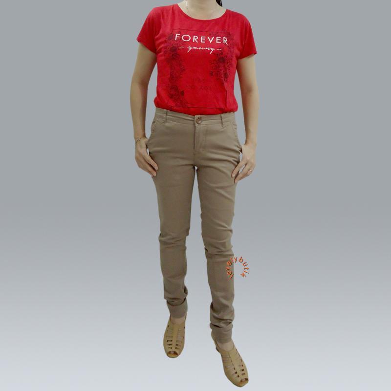 Lovely Zara Celana Chino Wanita / Celana Chino Terbaik Wanita / Celana Chino / Celana Panjang / Celana Kekinian / Celana Chino Murah / Celana Chino Skinny Wanita