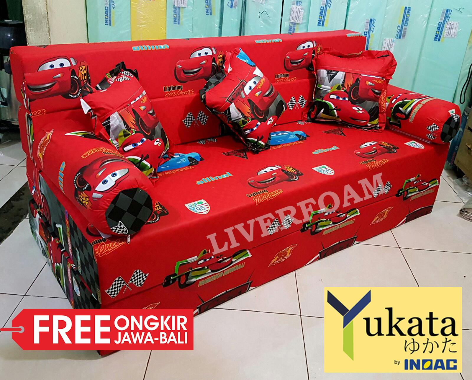 INOAC YUKATA D23 - Sofa bed / Sofabed 3in1 - No.4 - Uk: