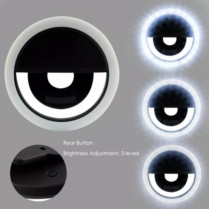 Indo World Trade-Lampu Selfie Ring Selfie Ring Light Flash Light By Indo World Trade.