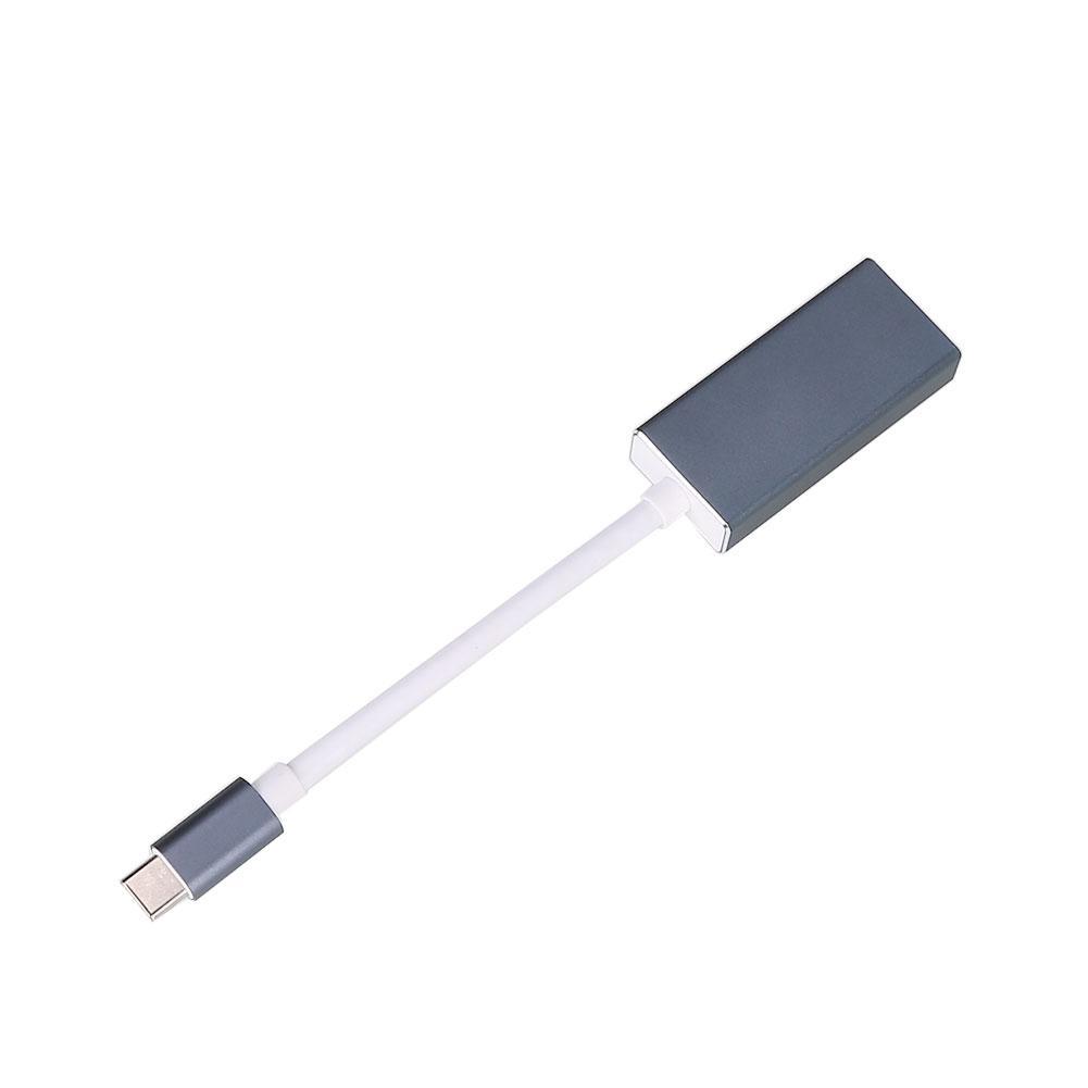 Laki-laki Ke Perempuan Tipe C untuk Dp Mini 4 K 1080 P Cord HD Line Kabel Konverter Macbook
