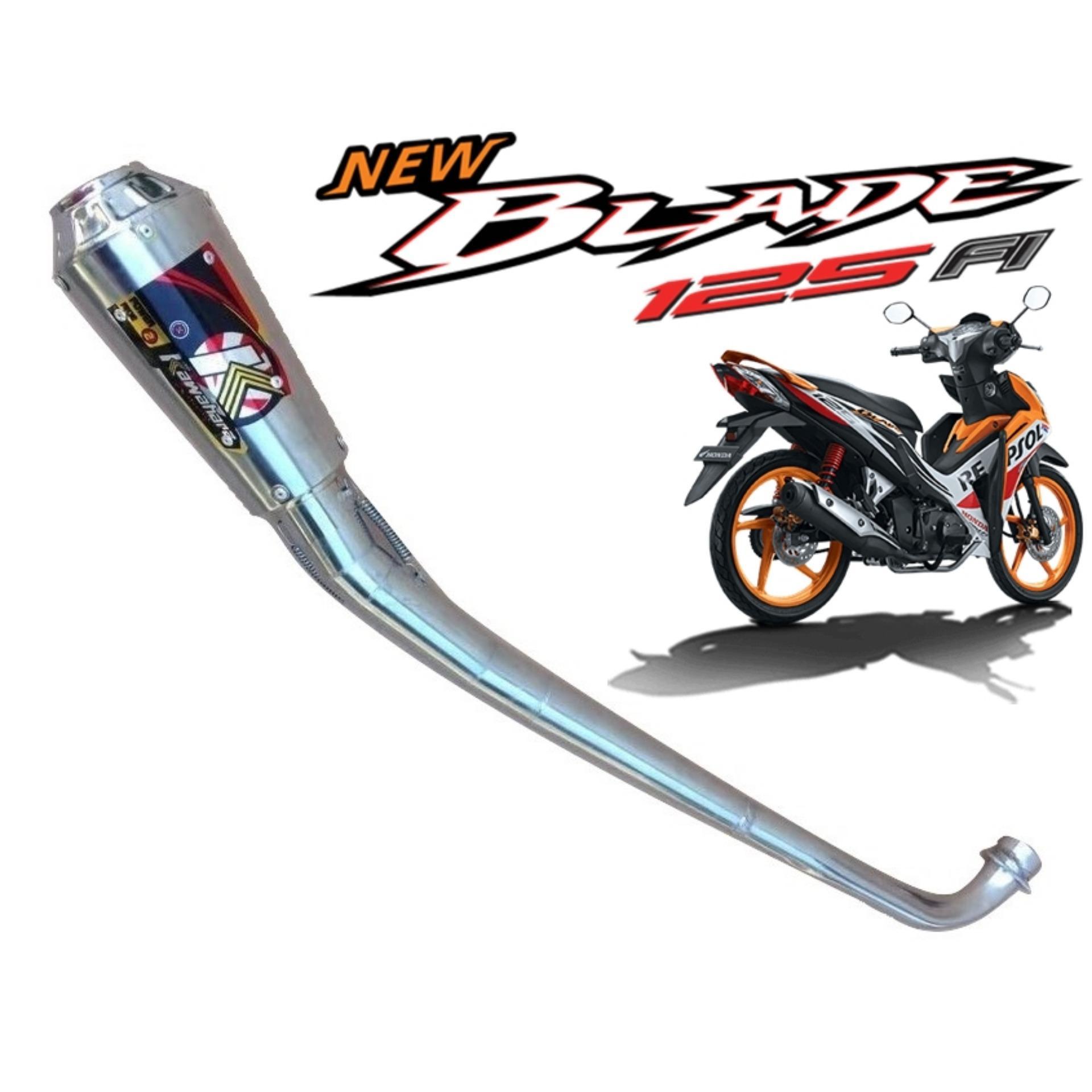 Knalpot Motor Blade - KAWAHARA
