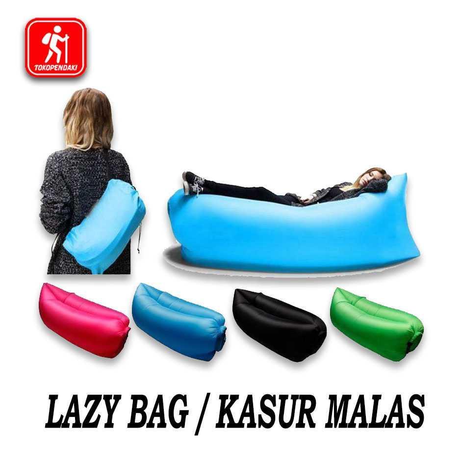 Best Seller!!! Kursi Angin Air Sofa Lazy Air Bed Kasur Malas Santai Camping Unik Murah Minimalis