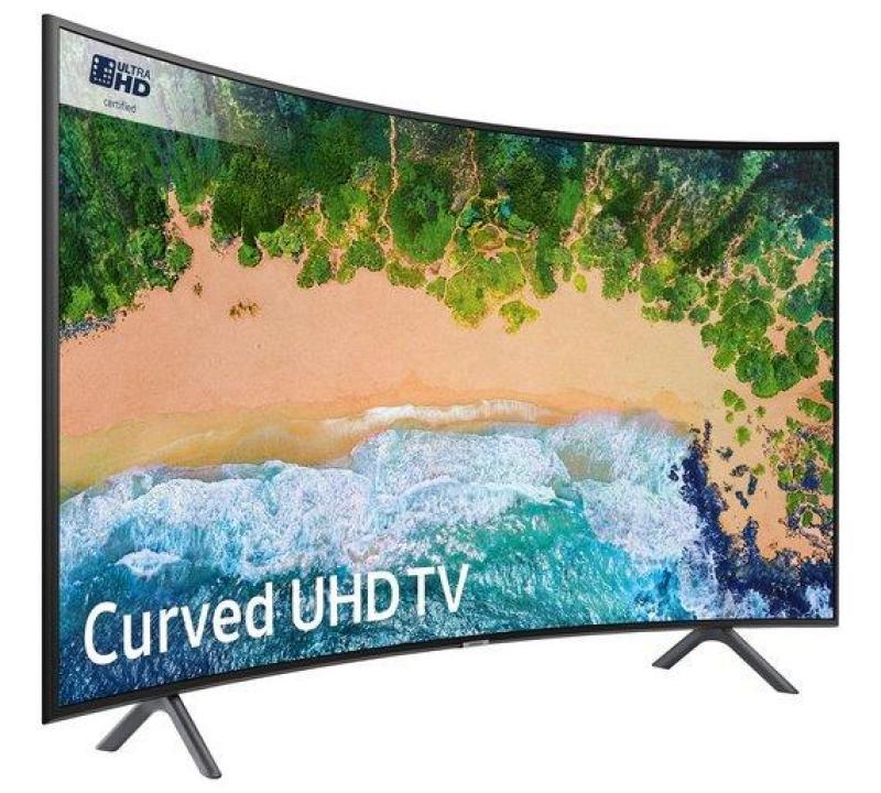 Led UHD Smart Curved Tv 49 Inch Samsung Type: 49NU7300 (Khusus Medan)
