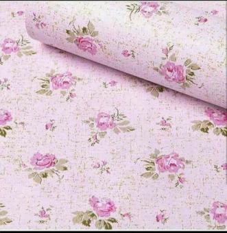 Pencarian Termurah Sticker Wallpaper Premium PVC - Walpaper Sticker Dinding Motif Nature (Size 45cm X 10M) - Bunga Kecil Pink sale - Hanya Rp42.020
