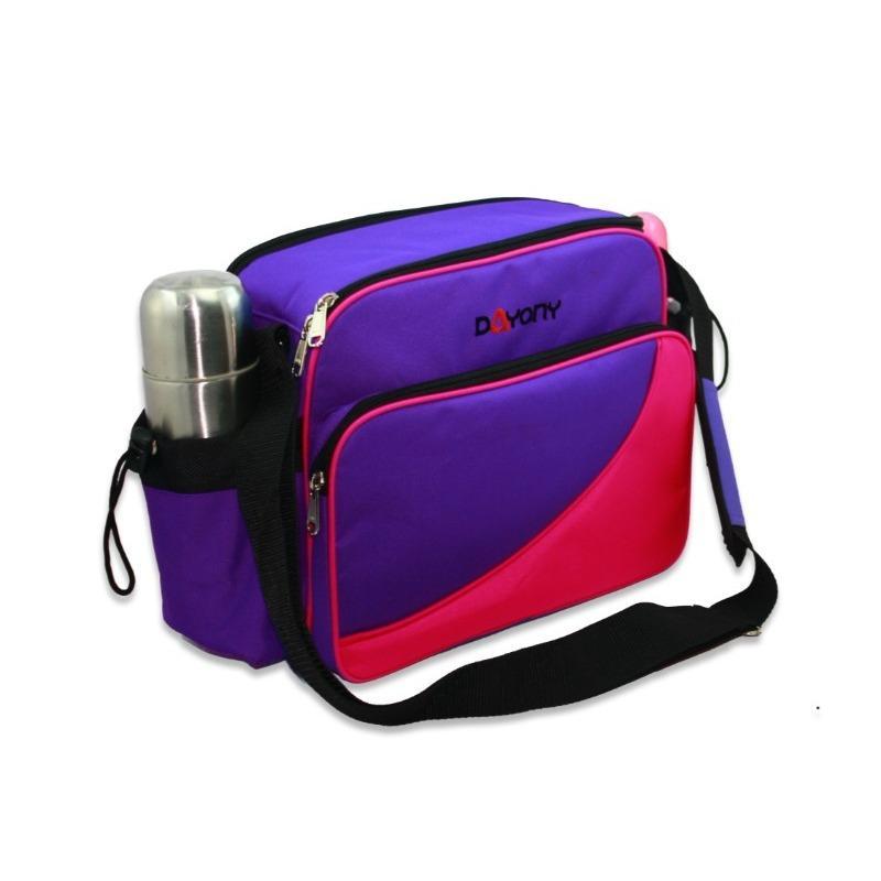 Tas Bayi Model Terbaru - Dayony MB02 Diaper Baby Bag Lunch Box Bekal dan Perlengkapan Bayi UNGU