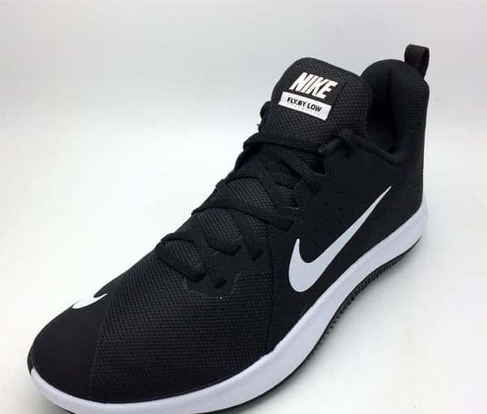 177fa8675b63 Sepatu Basket Nike Original Flyby Low Black White 908973-001 BNIB