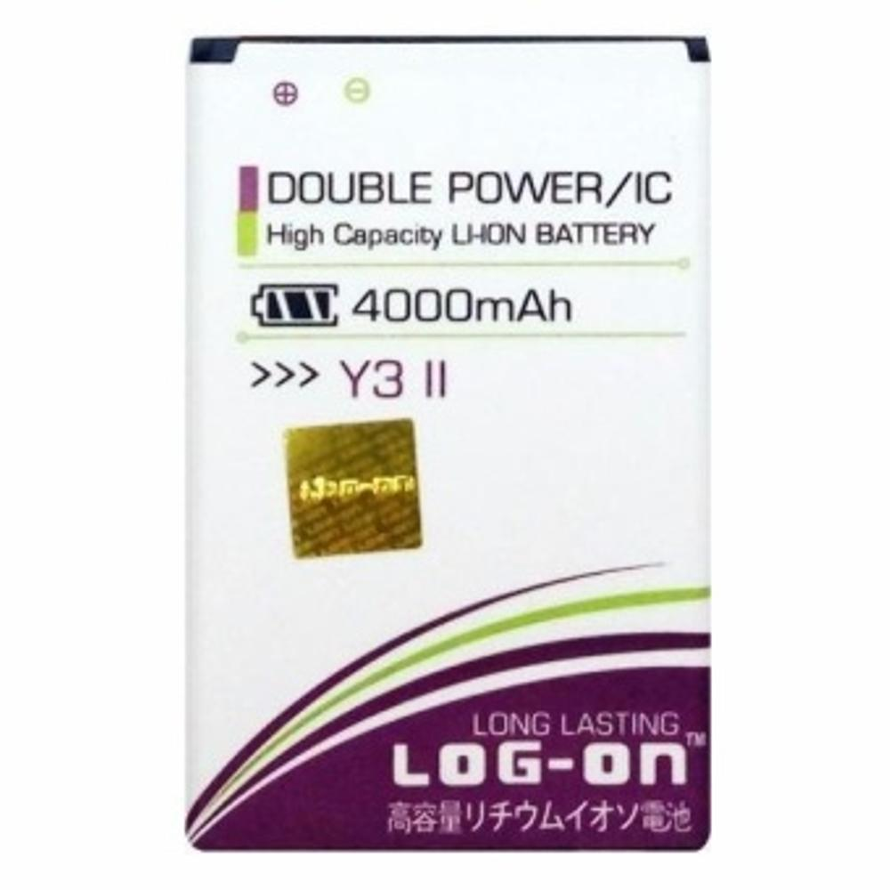 Log On Battery For Huawei Y3 II 2016