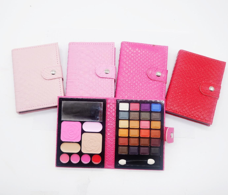 Mesh Eyeshadow Make Up Palette MEDIUM SIZE All in One - Eyeshadow dompet Buku Ukuran Sedang Motif CASING RANDOM - 1 pc