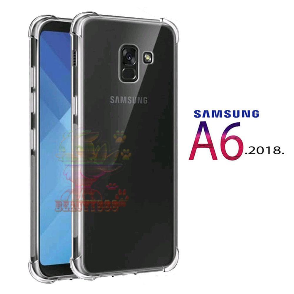 Case Samsung Galaxy A6 2018 Ultrathin Anti Crack Luxury Softcase Anti Jamur Air Case 0.3mm / Silico