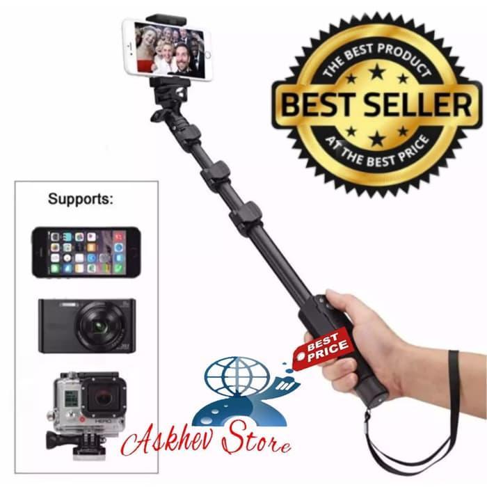 Tongsis Monopod YUNTENG YT-1188 Professional Selfie Stick Go Pro For Smartphone & Camera