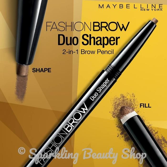 Termurah Maybelline Fashion Brow Duo Shaper (Eyebrow Pencil)