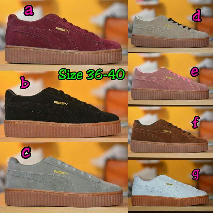 Sepatu Sneakers Ladies Puma Rihanna Fenty X