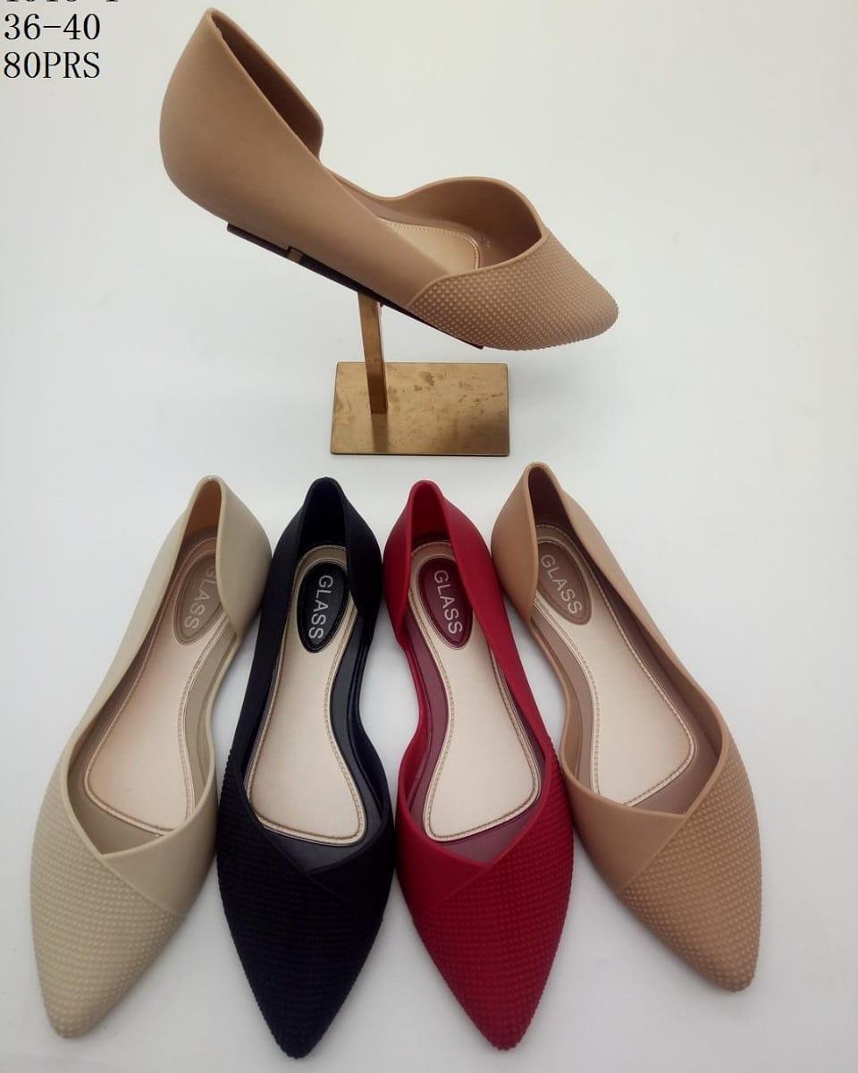 Myanka Jelly Shoes Flat Patricia