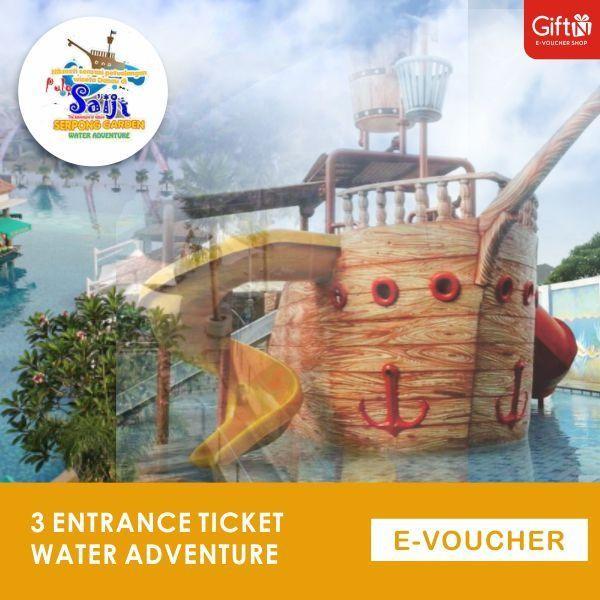 Pulo SaIji water Adventure 3 Tiket masuk Saiji