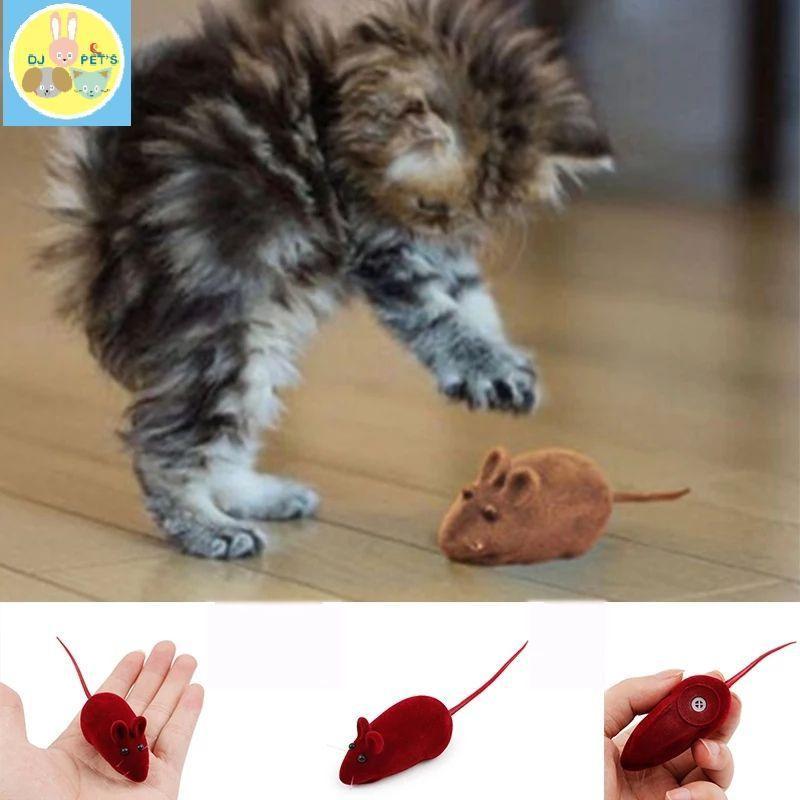 Mainan kucing tikus bunyi mouse kitten toy squek PET4104 6fd9ec40d2