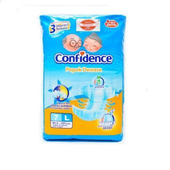 Pencarian Termurah CONFIDENCE Popok Dewasa Anti Bakteri L7 / L 7 harga penawaran - Hanya Rp36.053