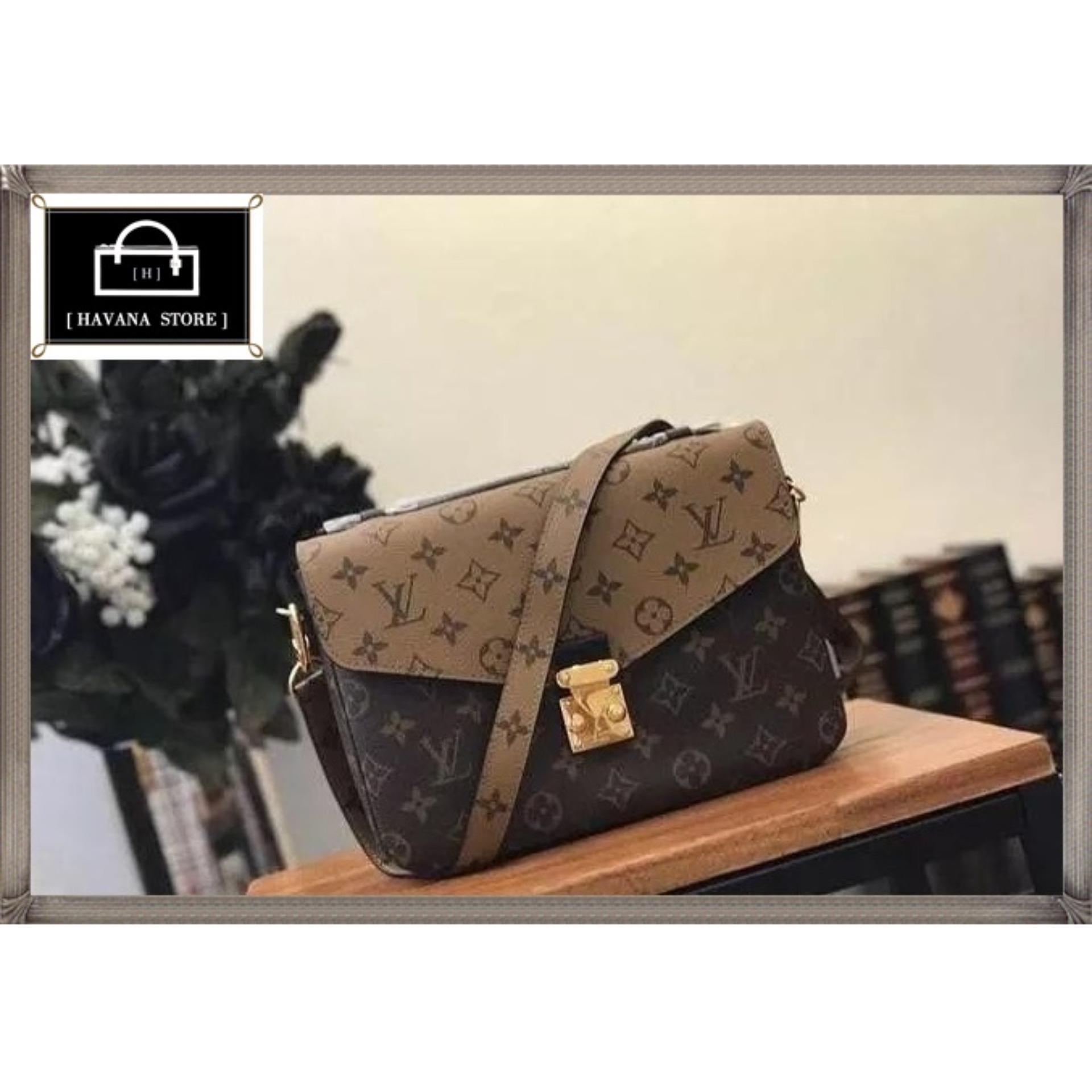 LOUIS VUITTON ( LV ) Metis Monogram Reverse Mirror Quality Tas Hand Bag Wanita Branded  ; Tas branded ; Tas branded bersertifikat ;  Tas import ; Chanel ; Gucci ; Zara ; LOUIS VUITTON ( LV ) ; Hermes ; Fossil ; Dior ; Tas wanita ; Fashion wanita