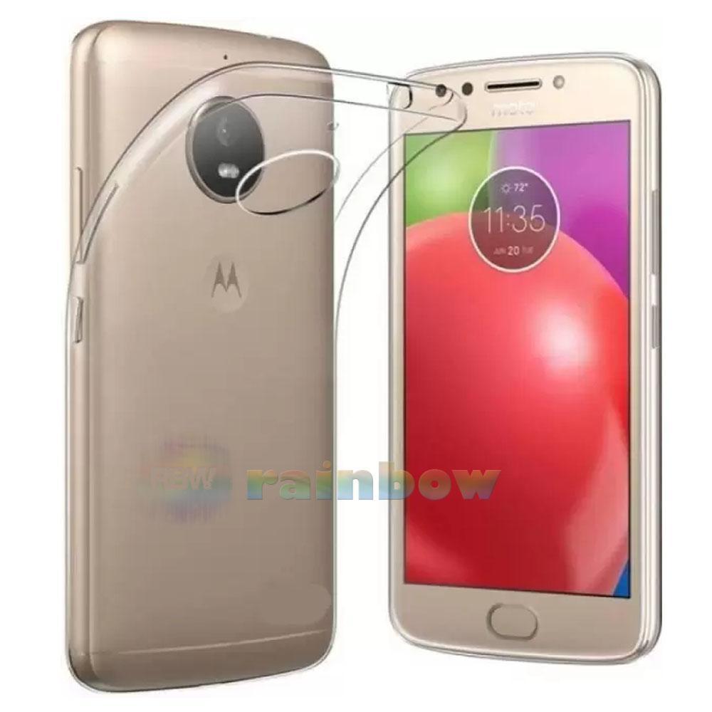 Rainbow ultrathin Motorola Moto E4 Plus (indonesia) Silikon Moto e4+ Ultrathin Moto E4 Plus Case Motorola Moto E4 Plus Silicone Motorola Moto E4+ Softcase Motorola Moto E4+ - Clear